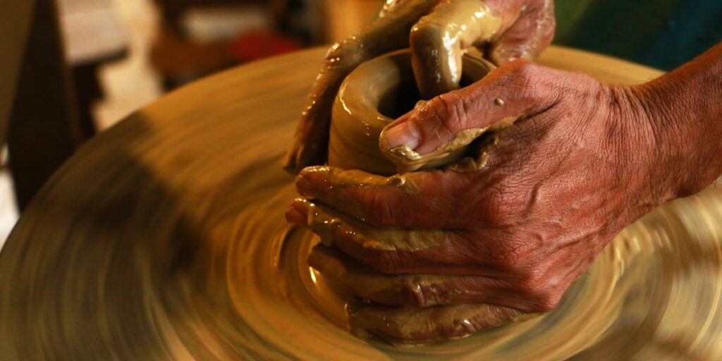 Clay in a Potter's Hand I Daily Walk Devotion