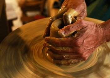Clay in a Potter's Hand